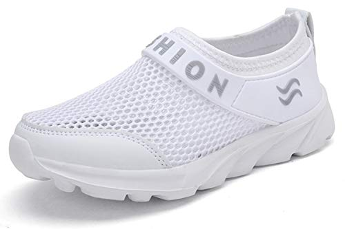 Zapatillas Deportivas de Correr para Niño Niña Malla Transpirable Ligeras Verano Zapatos Running Sneakers al Aire Libre Sandalias