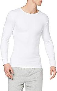 Abanderado termal algodón invierno c/redondo, camiseta térmica para hombre, (blanco 001), large (tamaño del fabricante:l/52)