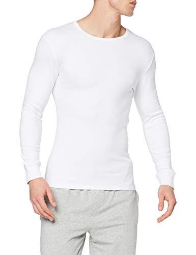 Abanderado termal algodón invierno c/redondo, camiseta térmica para hombre, (blanco 001), medium (tamaño del fabricante:m/48)