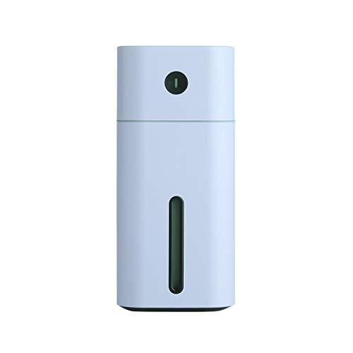 Greatangle-UK Humidificador de Aire USB Difusor de Aceite Esencial con luz LED Colorida Mini humidificador portátil para Oficina en casa Coche Azul