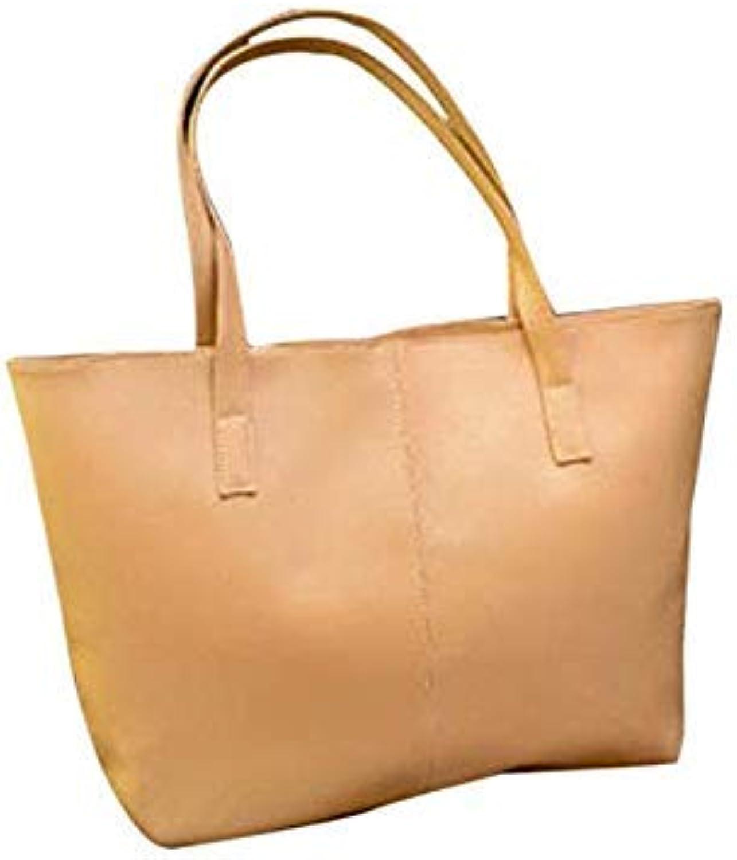 Leather Handbags Female Shoulder Bag Designer Luxury Lady Tote Large Capacity Zipper Handbag for Women Bolsa Feminina Khaki