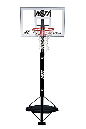 NET1Arena Tragbare Basketball-System, weiß