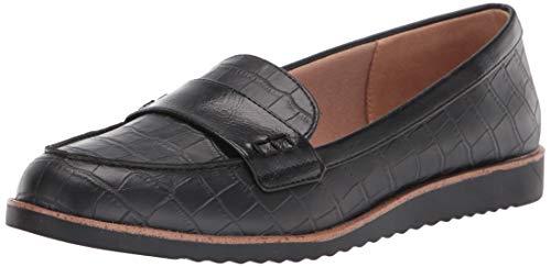 LifeStride womens Zee Loafer, Black, 8 US