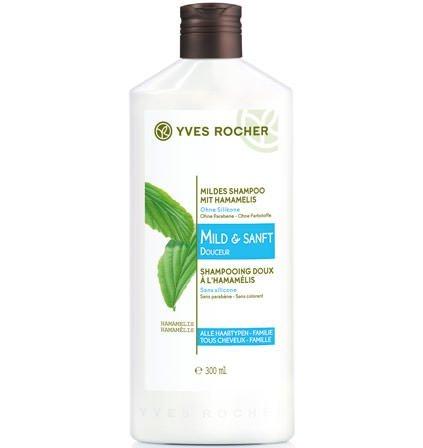 Yves Rocher - Mildes Shampoo mit Hamamelis (300 ml): Sanfte Pflege für geschmeidiges und glänzendes Haar