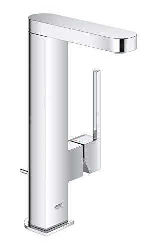 GROHE Plus   Badarmatur- Einhand-Waschtischbatterie   mit Zugstangen- Ablaufgarnitur   chrom   23851003