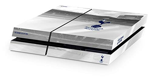 Tottenham Hotspurs Spurs FC Playstation 4 PS4 White Controller Pad And Console Skin White Hart Lane Stadium Image Club Crest Fan Gift Official