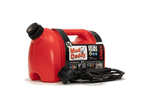 Mud Daddy Portable Washing Device, 8 Litre, Red