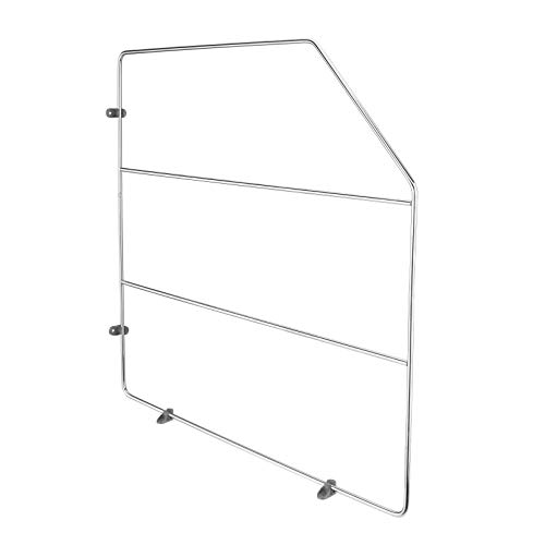 Rev-A-Shelf 597-18CR-52 18-Inch Height Heavy Gauge Wire Bakeware Baking Sheet Tray Divider Kitchen Organizer for Wall or Base Cabinets, Chrome