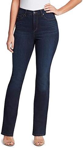 Gloria Vanderbilt Women s Amanda High Rise Boot Cut Jean Parker Whiskers 4 Regular product image