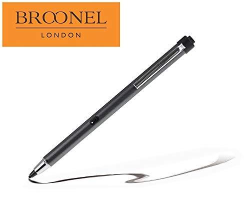 Broonel Grau Wiederaufladbarer Feiner Punkt Digitaler Stift Kompatibel mit dem HP ProBook 470 G5 17.3
