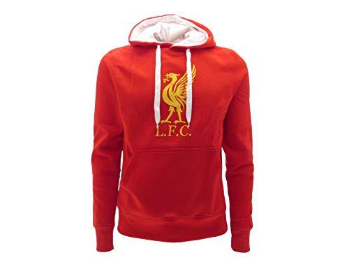 Felpa con Cappuccio Ufficiale Liverpool F.C. Taglia S Ragazzi Adulti Felpa con Cappuccio Ufficiale Liverpool F.C.