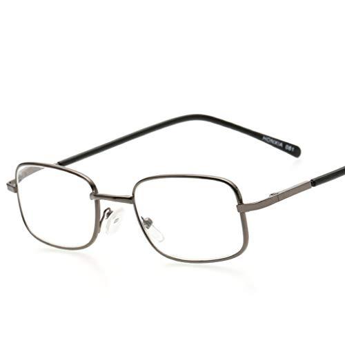 QQAA zwarte leesbril mannen en vrouwen hebben een stijlvolle look en kristalhelder zicht wanneer je het nodig hebt! Comfort Spring Arms Schroeven