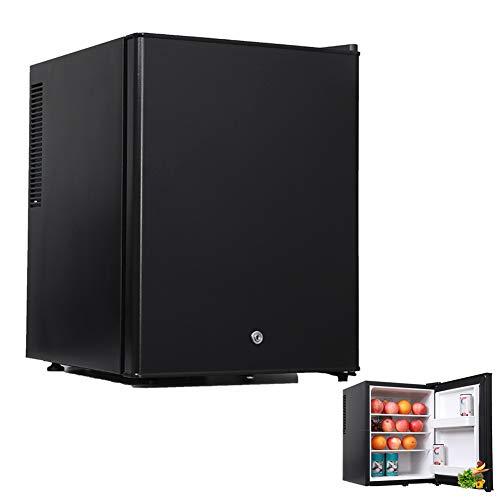 Minicongelador, Mini Frigorífico, Congelador Vertical Compacto De Una Sola Puerta, Mini Refrigerador De Mesa para Dormitorio De Oficina O Apartamento, 30L,Foam Door