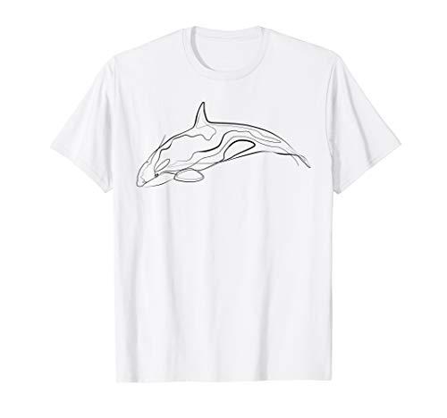Orca Wal Schwertwal Meerestier Tierschutz T-Shirt