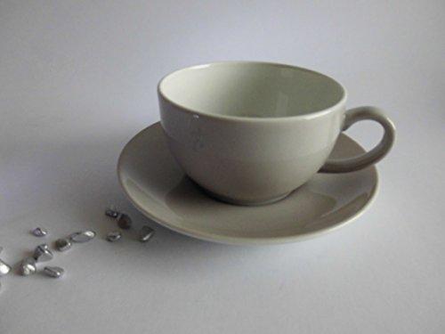 Dibbern Solid Color - Kaffeetasse 0,25 l mit Untere - Pearl - NEU