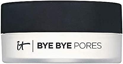 IT Cosmetics Bye Bye Pores - Poreless Finish Loose Setting Powder - Universal Translucent Shade - Contains Anti-Aging Peptides, Silk, Hydrolyzed Collagen & Antioxidants - 0.23 oz