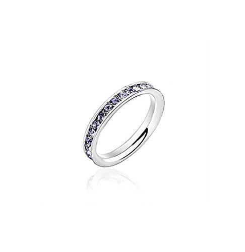 GYJUN Bague de mariage / fête / quotidien bijoux acier femmes , 9
