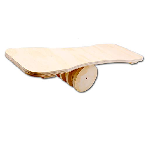 Amazing Deal Balance Board-Balance Board Trainer-Wooden Balance Board Yoga Training Balance Board Ro...