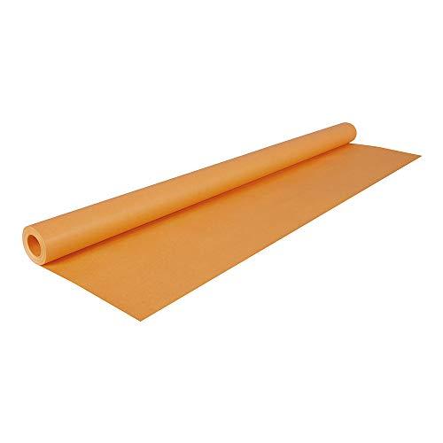 Clairefontaine Rotolo di Kraft colorato, 10 x 0,70 m, arancione