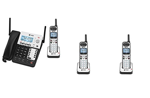 AT&T SynJ 4-Line Corded/Cordless SMB Phone System SB67138 w/ 3 Cordless Handsets