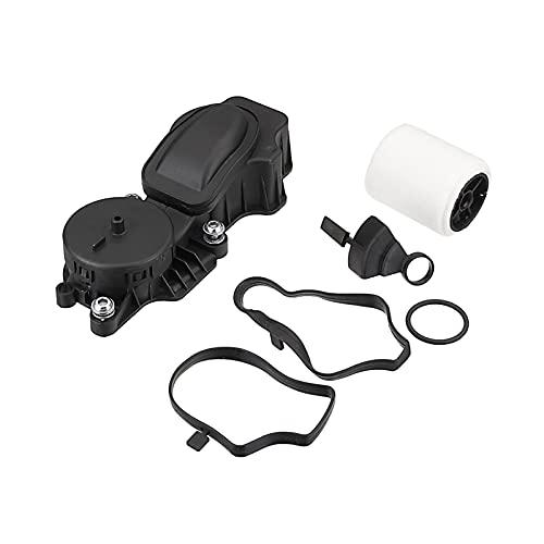 ZXZCV # 11127791552 Filtro de aceite del motor Separador de aceite del cárter de la válvula de ventilación de ventilación del cigüeñal para BMW E46 E60 E61