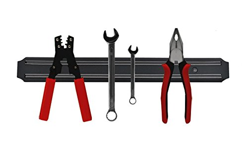 ISO TRADE Magnetleiste Werkzeugleiste Messerleiste Magnetschiene 32,5cm Stabiler Halt Universal Messerhalterung zur Wandmontage Messer 1590