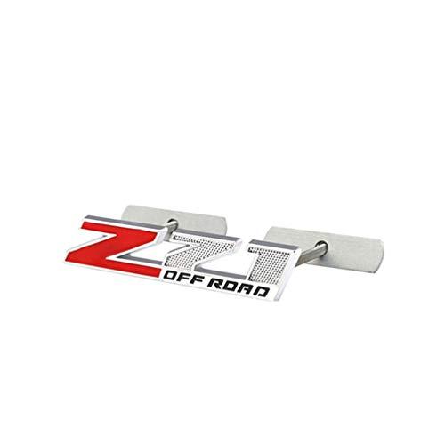 Para Chevrolet Silverado Chevy Colorado Z71 Road Sierra El Logotipo Del Emblema De La Parrilla Delantera Del ABS Del Coche,Placa De IdentificacióN De La Insignia,Accesorios Del Coche,1 Uds.
