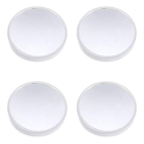 VILLCASE 4 Piezas Microscopio Reflector Espejo Óptico Instrumento Accesorios Lente Reflectante para Enseñar Ciencia Física Enseñanza Fotografía