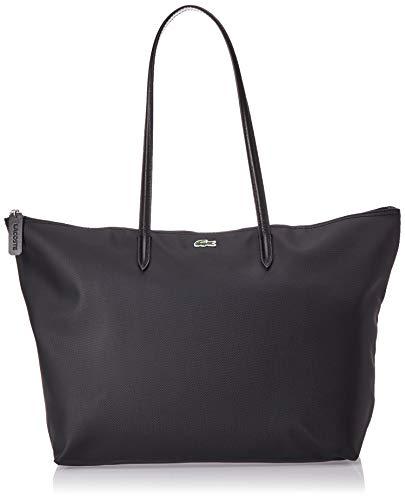 Lacoste NF1888, Sac Bandouliere Femme, Noir (Black), 14x29.5x35 cm (W x H x L)