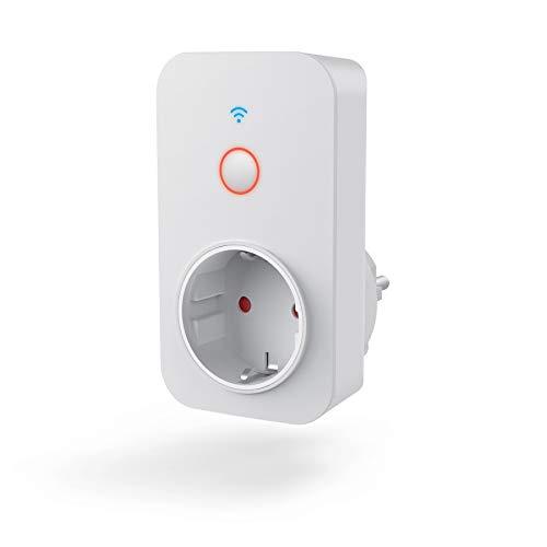 Hama 00176565 Enchufe wifi, int. Amperímetro, Blanco