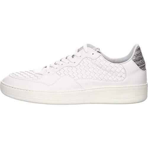 Floris van Bommel Herren 16265/02 Sneaker, Weiß (White Calf 02), 45 EU