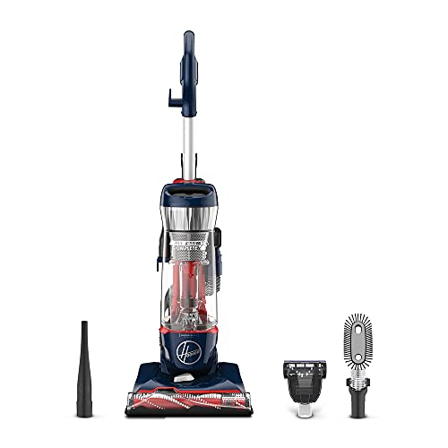 Hoover MAXLife Pet Max Complete, Bagless Upright Vacuum Cleaner, For Carpet and Hard Floor, UH74110, Blue Pearl