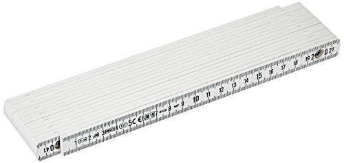 Metrica Gliedermaßstab Glasfaser 3M, weiß, 18070