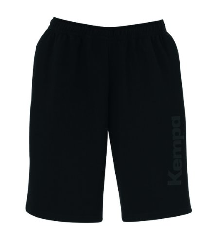 Kempa Corporate Sweat Short Mixte XL Noir - Noir