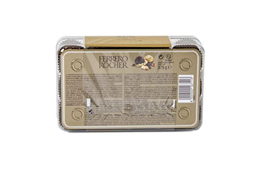 Ferrero Rocher Confezione da 30 Praline, 375g