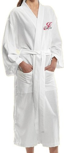 S.r - Monogrammed Bathrobes, Bridesmaids Gifts, White Bathrobes, Calf Length Robes