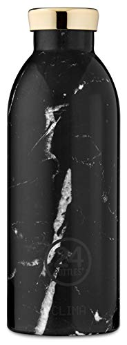 24Bottles Clima 850 ML Acier Inoxydable Noir Gourde