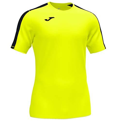 Joma Academy T-Shirt à Manches Courtes pour Homme Jaune Fluo XL