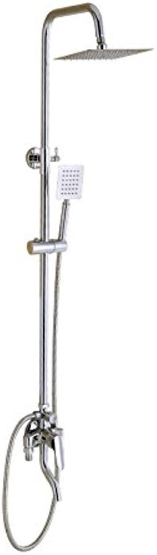 MangeooKalt- und Warmwasser Mischventil mit dem Kupfer dusche Wasserhahn Bad Wasser gemischt mit