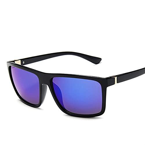 Moda Gafas de sol Hombres Plaza Sun Glasses Diseñador de marca UV400 Protección Sombras Oculos de Sol Hombre Gafas Conductor Conductor Oculos Polarizadas Gafas de sol Hombres Fresco Womens Sports