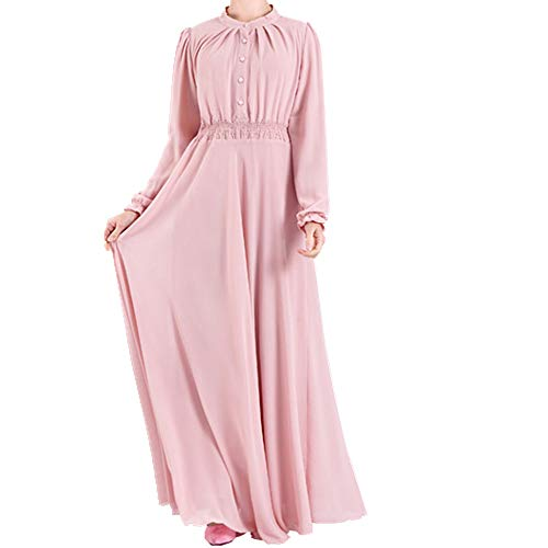 U/A señoras de dos capas de gasa elástico cintura Dres ropa señoras de dos capas de gasa cintura elástica Dres ropa