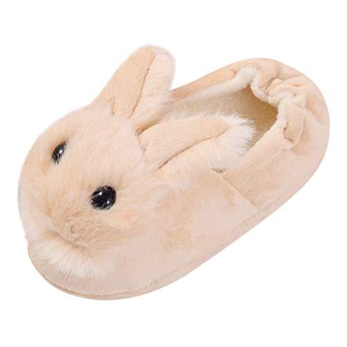 Ansenesna Hausschuhe Mädchen Junge Plüsch Wolle Warm Hüttenschuhe Kinder Baby Lammfell Winter Krabbelschuhe Katze Tiere Schafwolle Lauflernschuhe