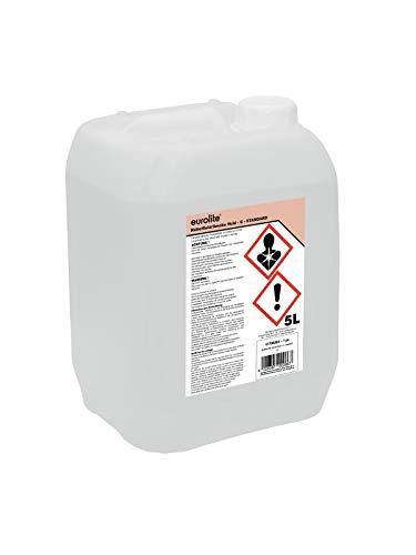 Eurolite Smoke Fluid -C- Standard 5 Liter | Nebelfluid für Nebelmaschinen | Mittlere Dichte und lange Standzeit | Made in Germany | Geruchsneutral auf Wasserbasis | Biologisch abbaubar