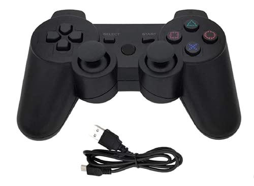 NGW Controller Joypad Joystick Gamepad Pad Manopola Telecomando Alta Qualita' Wireless Bluetooth Senza Filo Dualshock Doppia Vibrazione Compatibile Con Console Playstation 3 Ps3