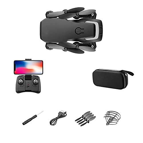 GZTYLQQ Drone con Doppia Fotocamera per Adulti 4K UHD, Elicottero quadricottero RC con 4 batterie, Fotografia con gesti della Mano, capovolgimenti 3D, Mantenimento dell'altitudine