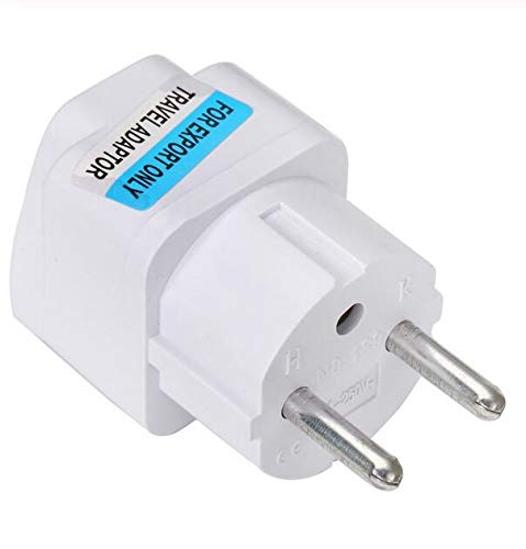 Best Price Universal UK US AU to EU White European Charger Power Socket Plug Power Adapter Travel Converter