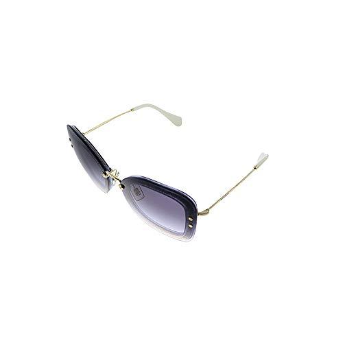 Miu Miu 0MU02TS 86LNJ0 65 Gafas de sol, Morado (Transp Violet//Pink Violet), Mujer
