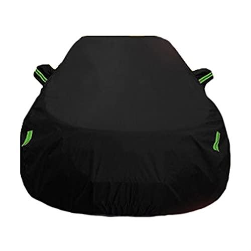 GAGO Auto-Abdeckung Kompatibel mit Mini/One Cooper Countryman Coopers Cabrio Clubman Wasserdicht Atmungsaktiv Alle Wetterschutz Baumwolle gefütterter Vollauto-Abdeckung