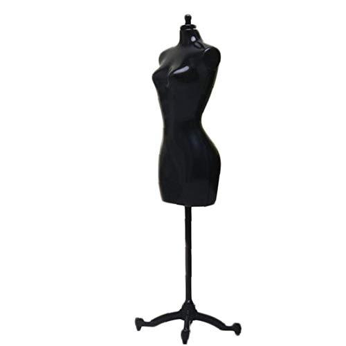 Hotaden Maniquí Vestido de Ropa sostenedor del Soporte de exhibición Mantenga Vestido Vertical Soporte de la Ayuda Accesorios