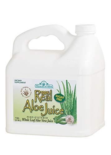 Real Aloe Whole-Leaf Pure Aloe Vera Juice - Made from...